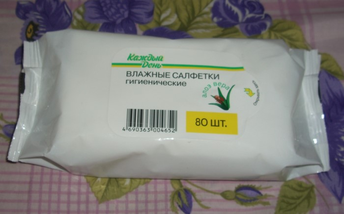 Влажные салфетки помогут провести быструю уборку в экстренной ситуации / Фото: images.spasibovsem.ru