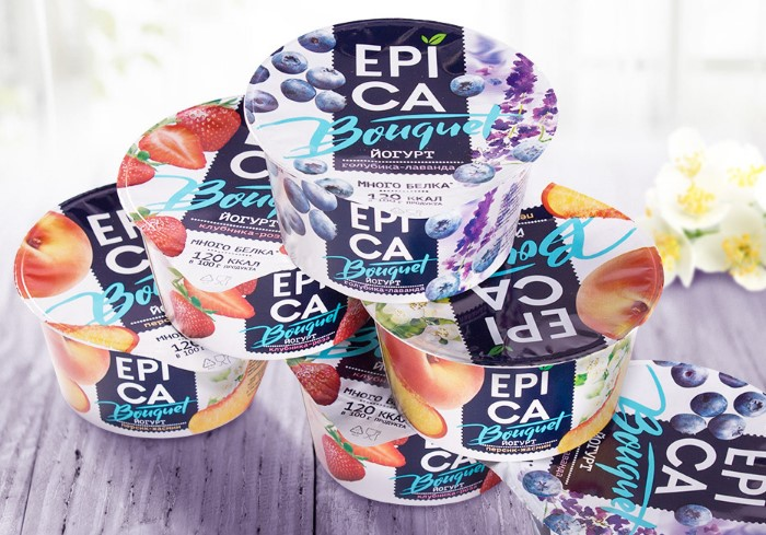 В сладких йогуртах содержится большое количество подсластителей / Фото: mir-s3-cdn-cf.behance.net