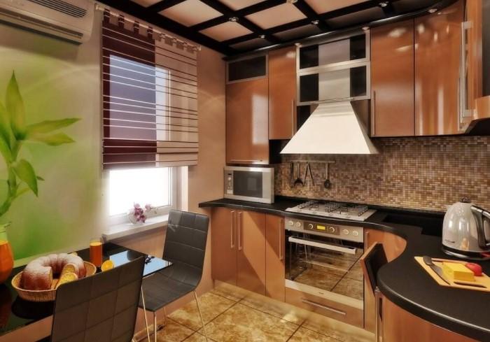 Чтобы гарнитур обошелся дешевле, выбирайте мебель с лаконичными фасадами / Фото: vashestroitelstvo.ru