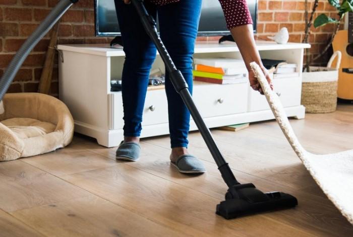 Благодаря регулярной уборке в доме будет намного меньше шерсти / Фото: mon.medikforum.ru
