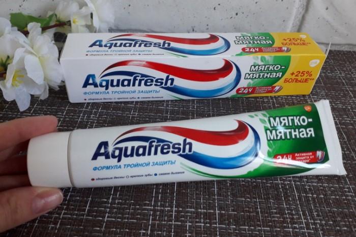 Мятная зубная паста лучше всего перекроет неприятный аромат / Фото: irecommend.ru