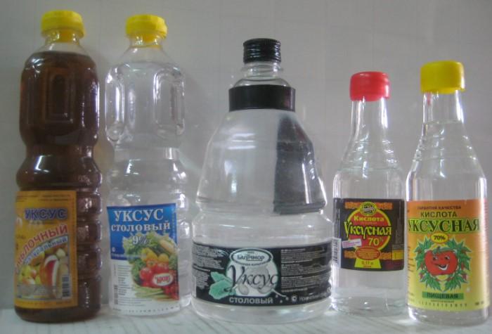 Можно окунуть изделие в уксус или обработать предмет из пульверизатора / Фото: diz-cafe.com
