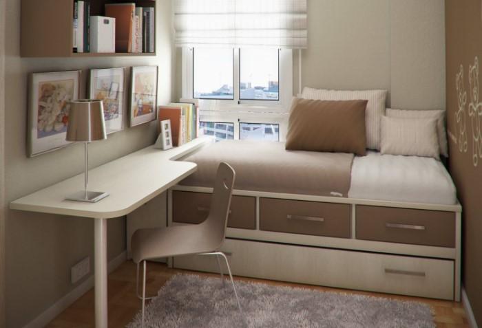 Далеко не всегда размер мебели должен быть пропорционален площади комнаты / Фото: mykaleidoscope.ru