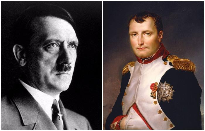 Этих политических деятелей часто сравнивают, ведь и француз, и немец грезили о захвате мира