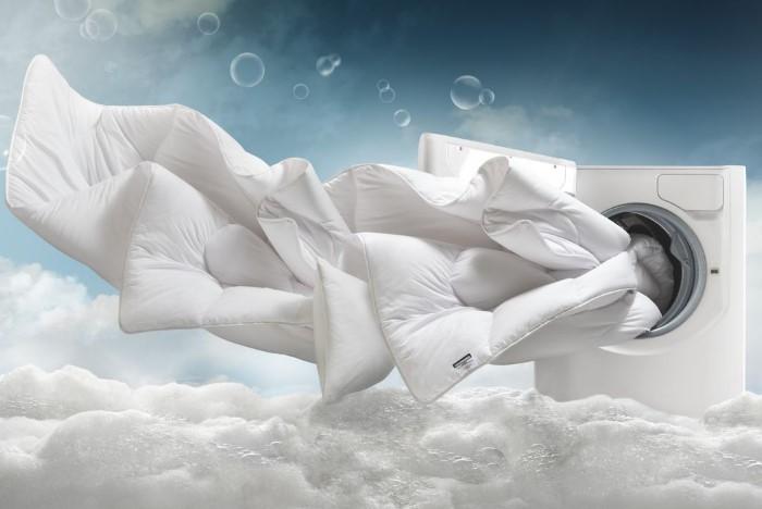 Жидкий гель лучше вымывается из волокон, чем порошок / Фото: homestoreplus.co.uk