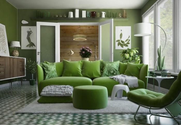 Зеленый цвет символизирует обновление, рост, а, соответственно, процветание и обогащение / Фото: diabaz-angarsk.ru