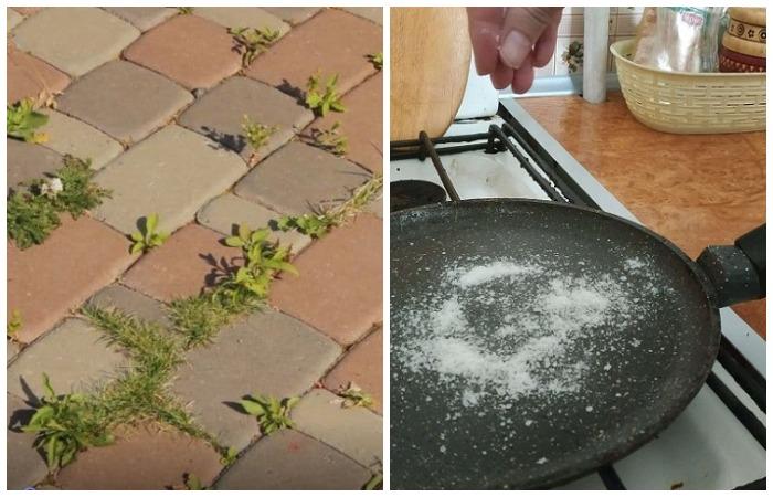 Поваренная соль не менее полезна в быту, чем в кулинарии