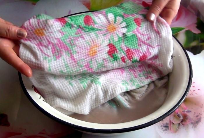 Винный порошок очистит и освежит кухонный текстиль / Фото: severdv.ru