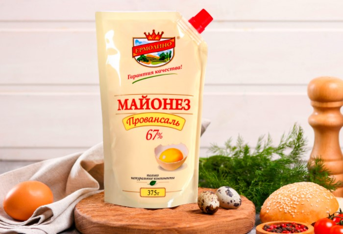 В составе «Провансаля» имеется растительное масло, так что о низкой калорийности не может быть и речи / Фото: ermolino-produkty.ru
