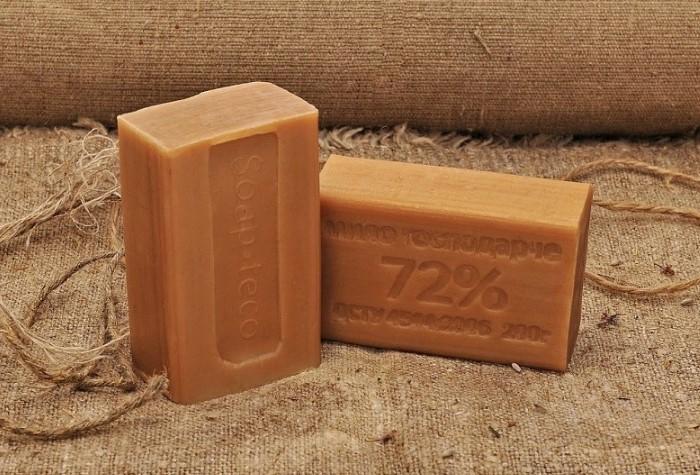Кусковое мыло более концентрированное, чем жидкое / Фото: info-consult.ru