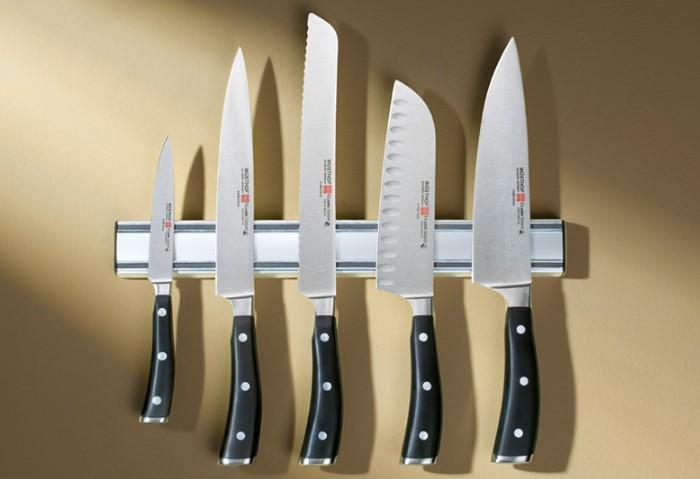 Магнитная планка для ножей - оптимальное решение для хранения режущих предметов / Фото: promenu.ua
