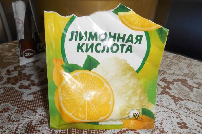 Лимонная кислота содержится даже в профессиональных чистящих средствах / Фото: a.d-cd.net