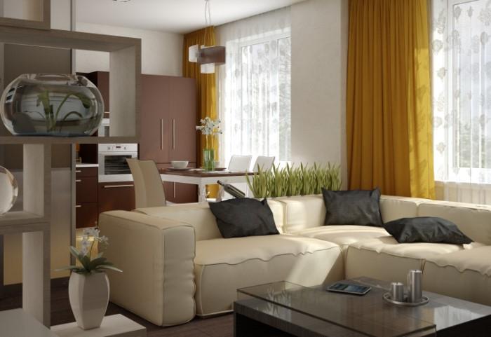 Используйте яркие цвета для акцентов, а не как основной оттенок дизайна / Фото: media.decorateme.com