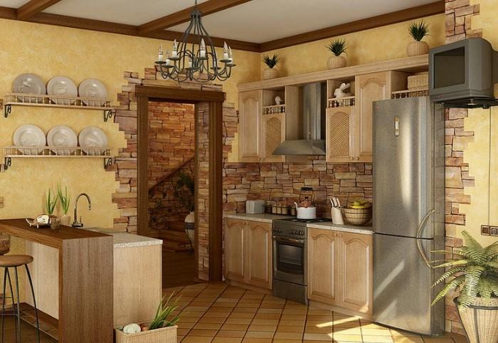 Забудьте о сложном декоре стен вроде камня, плитки или фактурных обоев / Фото: ivanovamebli.com.ua