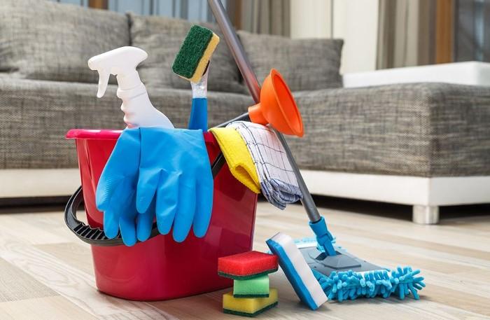 Регулярная и тщательная уборка поможет не допустить появления насекомых в доме / Фото: i.pinimg.com