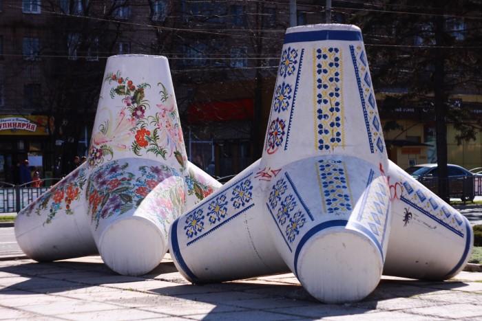 Роспись одного тетрапода занимала от нескольких дней до недели / Фото: upload.wikimedia.org