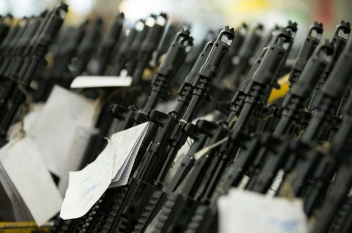 20% всего мирового стрелкового оружия - это автоматы Калашникова / Фото: t-l.ru