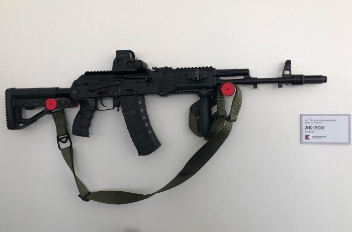 АК-200 - последняя разработка из «Калашниковых» / Фото: pbs.twimg.com