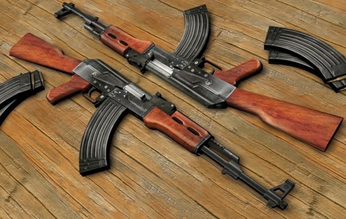 АК-47 стал простым и надежным автоматом, который не подведет солдат в трудную минуту / Фото: vashsad.ua