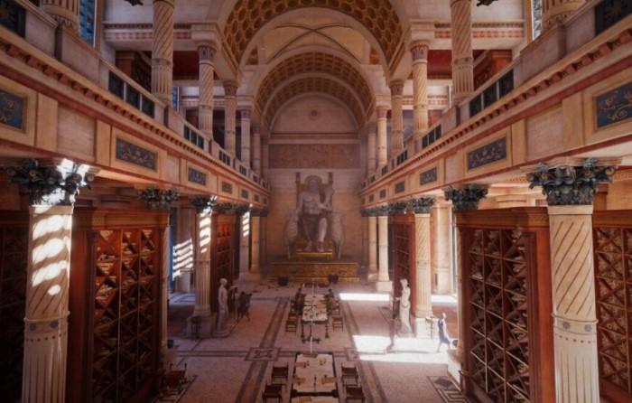 Александрийская библиотека - одно из крупнейших и значимых книжных хранилищ в древнем мире / Фото: u.9111s.ru