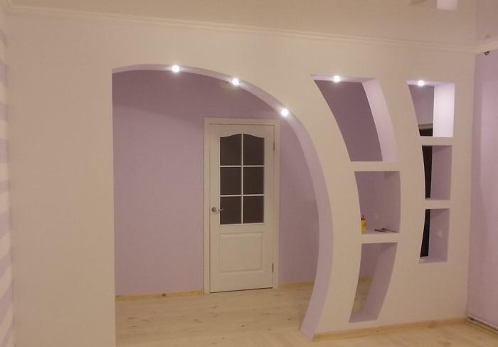 Двери - далеко не единственный вариант разграничения пространства между комнатами
