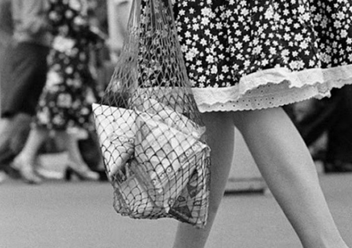 Ходить с авоськой сейчас не только практично, но и модно / Фото: i.mycdn.me