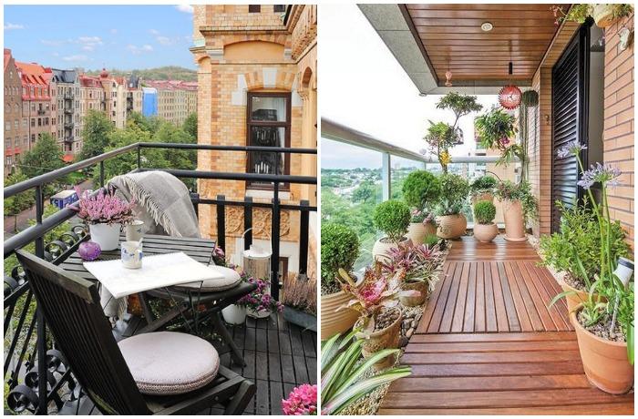 Если в Италии балкон - это место для шумных вечерних посиделок, то в Германии там чаще всего проводят время днем