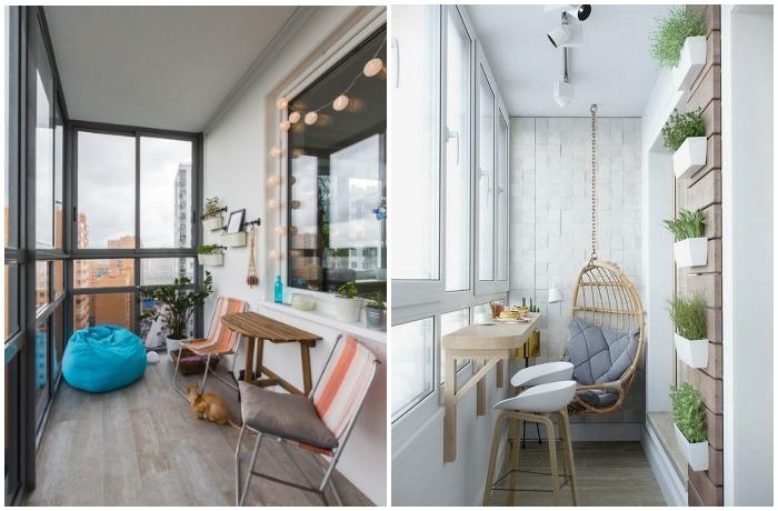 Норвежские балконы выглядят не менее стильно и минималистично, чем сами квартиры