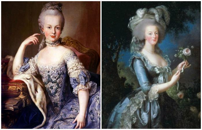 Во времена барокко и рококо женщины отходят от естественности и становятся похожими на фарфоровые статуэтки