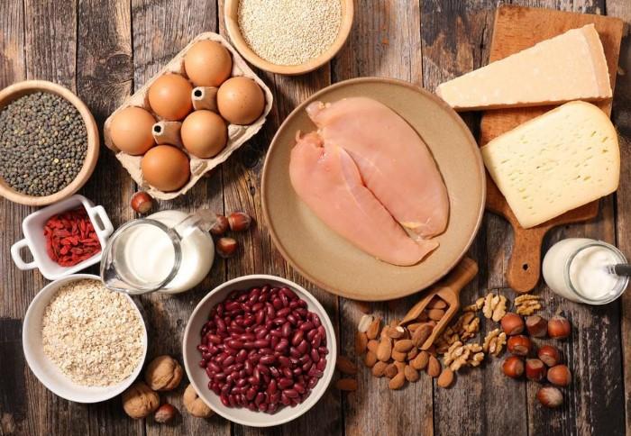 Продукты с высоким содержанием белка / Фото: fb.ru