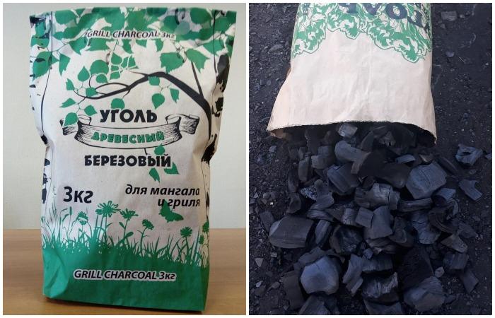 Березовый уголь - отличная альтернатива