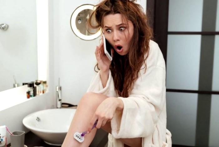 На толщину, цвет и густоту волосков влияет не бритье, а генетическая предрасположенность / Фото: i.ytimg.com