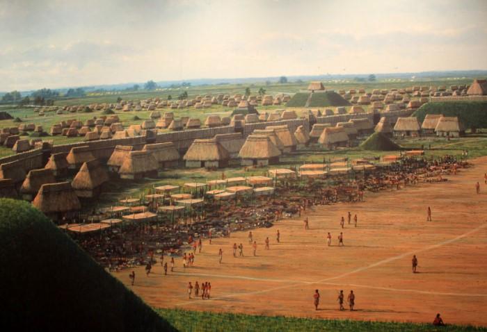 Город представлял собой поселение из 109 курганов, расположенных у берега реки Миссисипи, напротив города Сент-Луис / Фото: goodfreephotos.com