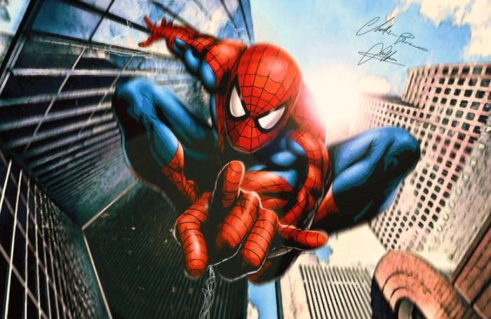 В 1977 году на прилавках магазинов появился новенький супергеройский комикс Marvel о Человеке-пауке / Фото: wallpaper-house.com