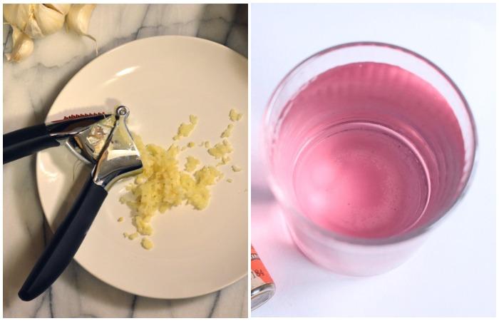 Растворами из чеснока или марганцовки можно быстро вывести вредителей