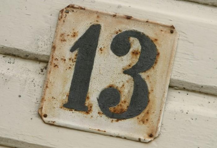 В 1911 году появилось название, описывающее страх числа 13 - трискаидекафобия / Фото: 1.bp.blogspot.com