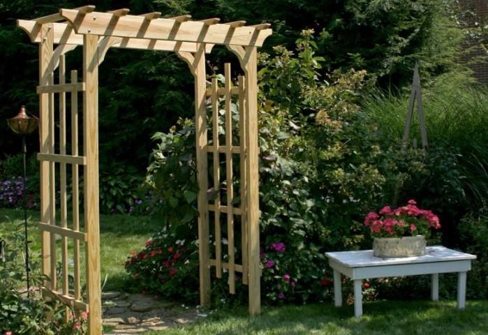 Универсальный квадратный вариант / Фото: gardenofluma.com