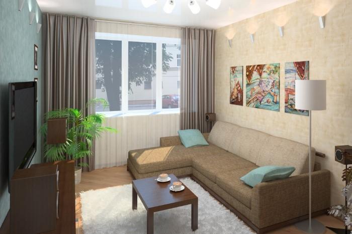 Чтобы визуально расширить пространство, выбирайте светлую мебель / Фото: comfortoria.ru