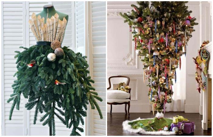 Ваши гости точно не забудут креативную елку