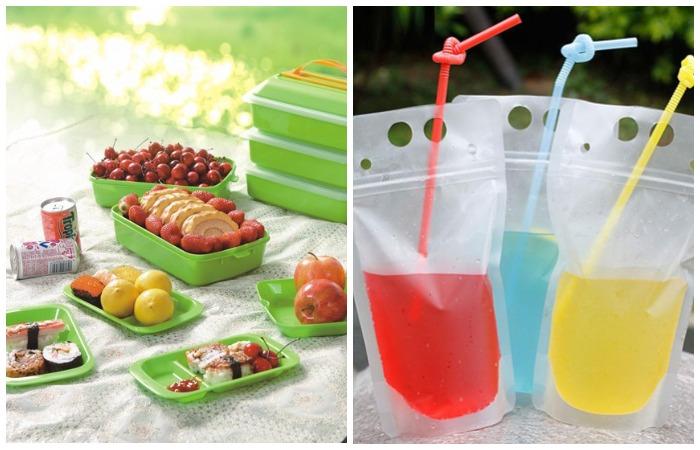 Старайтесь не загрязнять природу лишний раз и брать еду в контейнерах, а напитки в пакетах