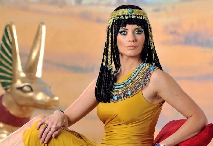 Идеальными считались стройные египтянки с высокой талией, узкими плечами, пухлыми губами и зелеными глазами / Фото: kuban24.tv