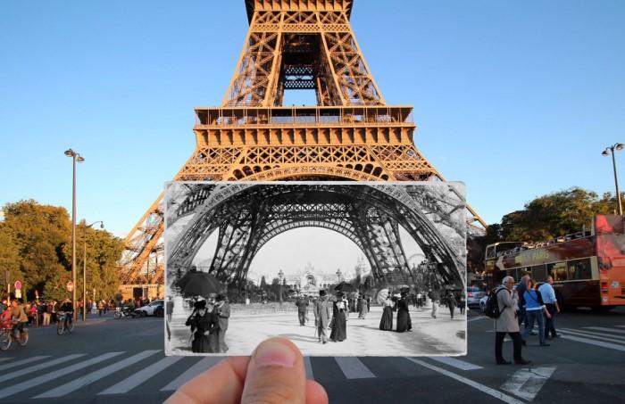 Эйфелева башня - визитная карточка не только Парижа, но и всей Франции