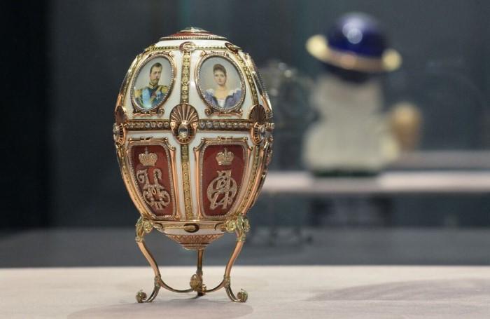 Яйца Фаберже всегда ассоциировались с российской императорской семьей