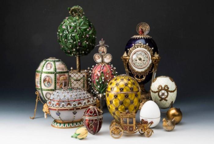 Яйца Феберже из коллекции Форбса, которые выкупил Виктор Вексельберг / Фото: ic.pics.livejournal.com