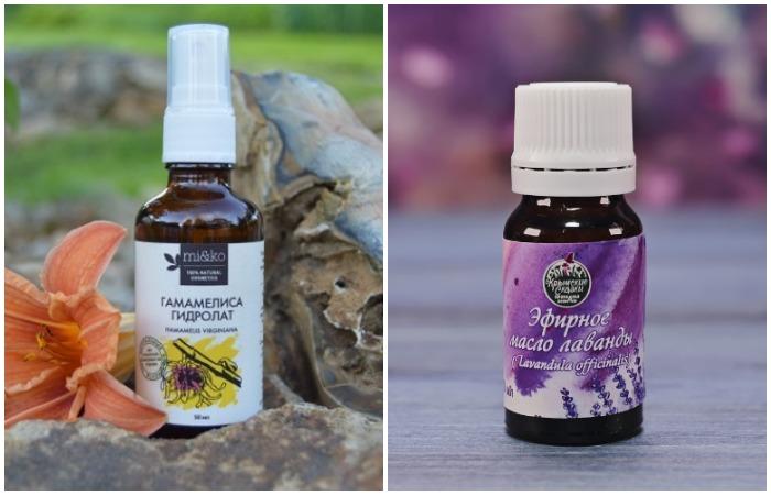 Из гамамелиса и лавандового масла получится натуральный и экологичный антистатик