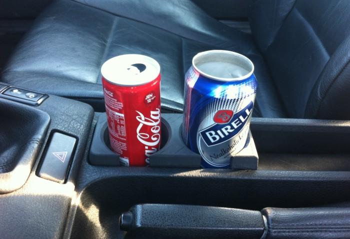 Напитки замерзнут, расширятся и взорвутся в машине / Фото: img.anews.com