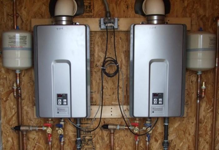 Газовые колонки для нагревания воды / Фото: imageserver.ibud.ua