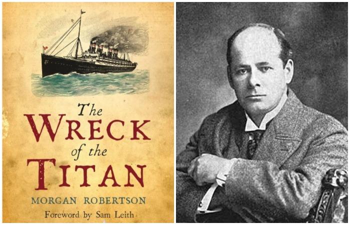 За 14 лет до катастрофы американский писатель Морган Робертсон написал фантастическую повесть о крушении корабля