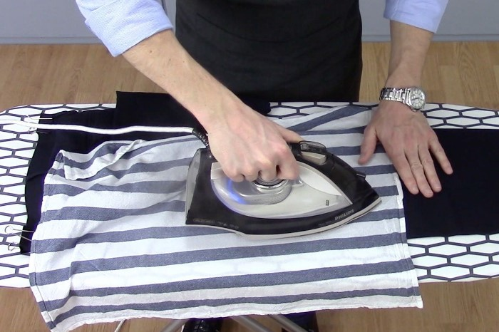 Подкладка создаст дополнительную защиту для деликатных тканей / Фото: sdelai-lestnicu.ru
