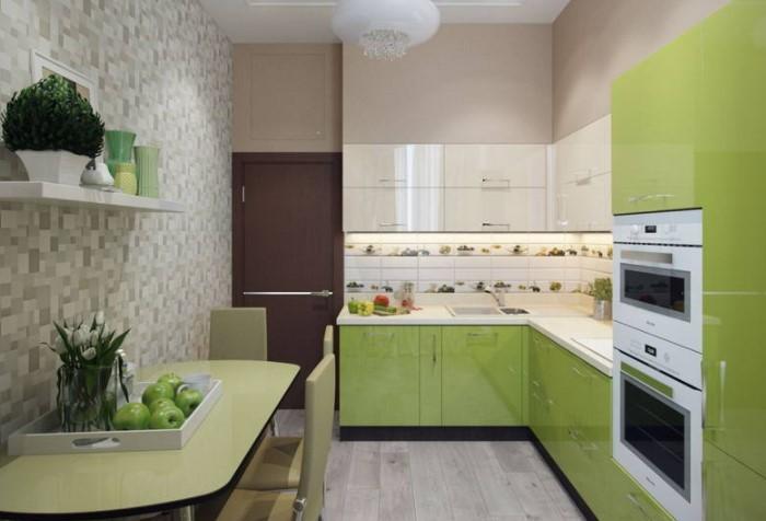 Глянцевая поверхность отражает естественный свет, добавляя комнате воздуха / Фото: vizitmebel.com.ua